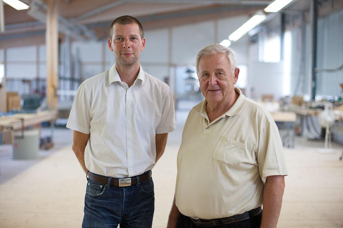 Robert und Dieter Voit - Geschäftsleitung
