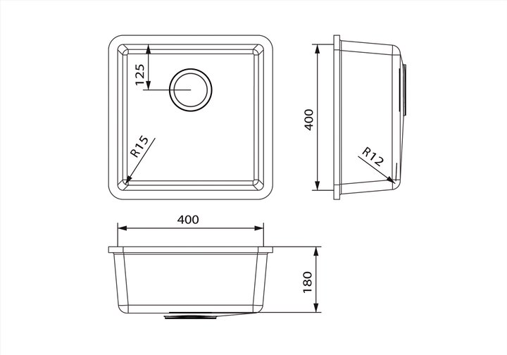 LG HiMacs® Spülbecken CS 404